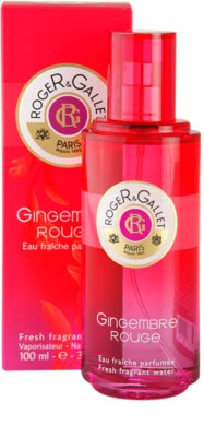 Roger & Gallet Gingembre Rouge água refrescante para mulheres 1