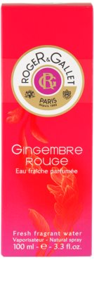 Roger & Gallet Gingembre Rouge água refrescante para mulheres 4