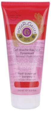Roger & Gallet Gingembre Rouge gel de dus revigorant