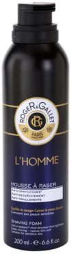 Roger & Gallet Homme pianka do golenia 1