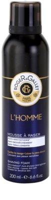Roger & Gallet Homme espuma de barbear