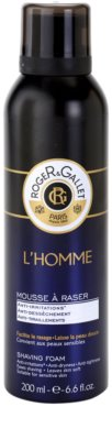 Roger & Gallet Homme pianka do golenia