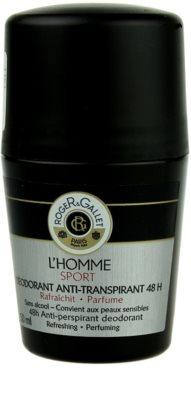 Roger & Gallet L'Homme Sport desodorizante roll-on