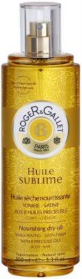 Roger & Gallet Huile Sublime óleo seco nutritivo para corpo e cabelo