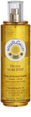 Roger & Gallet Huile Sublime подхранващо сухо олио за тяло и коса