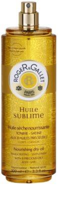 Roger & Gallet Huile Sublime óleo seco nutritivo para corpo e cabelo 1