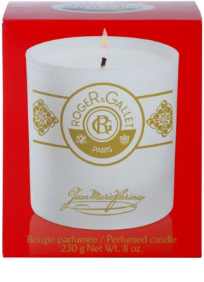 Roger & Gallet Jean-Marie Farina Scented Candle 3