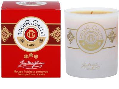 Roger & Gallet Jean-Marie Farina vela perfumada