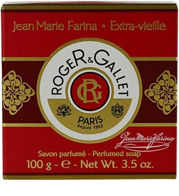 Roger & Gallet Jean-Marie Farina tuhé mydlo v krabičke 3