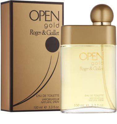 Roger & Gallet Open Gold туалетна вода для чоловіків 1