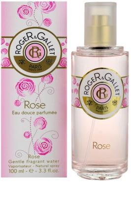 Roger & Gallet Rose frissítő víz nőknek