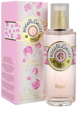 Roger & Gallet Rose água refrescante para mulheres 1