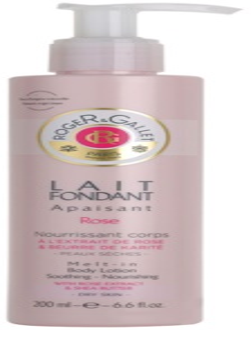 Roger & Gallet Rose lapte de corp calmant pentru piele uscata