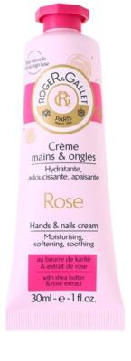 Roger & Gallet Rose krém na ruce a nehty s bambuckým máslem a extraktem z růží