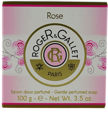 Roger & Gallet Rose sapun solid intr- o cutie 3