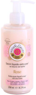 Roger & Gallet Rose sabonete líquido com manteiga de karité