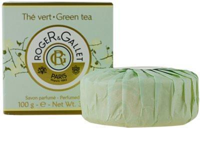Roger & Gallet Thé Vert parfümös szappan dobozban 2