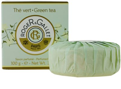 Roger & Gallet Thé Vert туалетне мило в коробочці 2