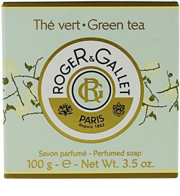 Roger & Gallet Thé Vert parfümös szappan dobozban 3