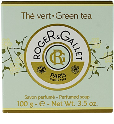 Roger & Gallet Thé Vert туалетне мило в коробочці 3