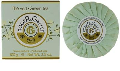 Roger & Gallet Thé Vert jabón sólido en caja