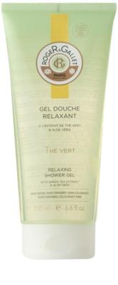 Roger & Gallet Thé Vert gel de ducha suave