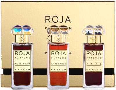 Roja Parfums Aoud Parfum de Voyage dárková sada