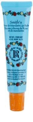 Rosebud Perfume Co. Smith`s Rose & Mandarin balzam za ustnice v tubi