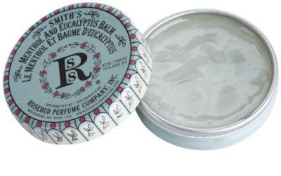 Rosebud Perfume Co. Smith´s Menthol and Eucalyptus bálsamo labial