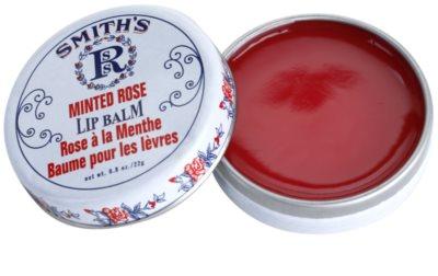 Rosebud Perfume Co. Smith´s Minted Rose bálsamo de lábios