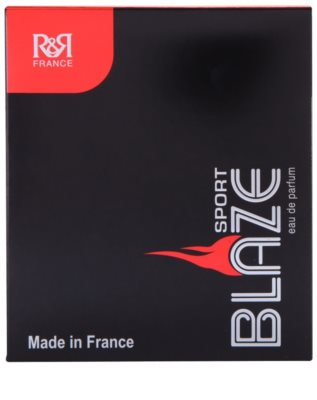 R&R Perfumes Blaze Sport eau de parfum para hombre 4