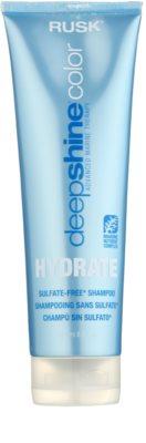 Rusk Deep Shine Color Hydrate hydratační a revitalizační šampon pro suché a barvené vlasy