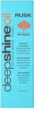Rusk Deep Shine Oil olejová péče s arganovým olejem pro všechny typy vlasů 2
