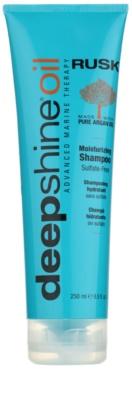 Rusk Deep Shine Oil szampon regenerujący do włosów suchych i zniszczonych