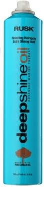 Rusk Deep Shine Oil rychleschnoucí sprej na vlasy pro fixaci a tvar 1