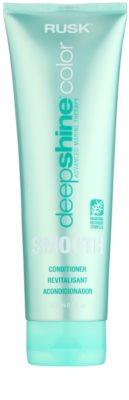 Rusk Deep Shine Color Smooth vyhlazující kondicionér pro snadné rozčesání vlasů