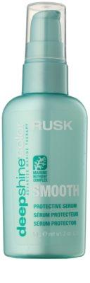 Rusk Deep Shine Color Smooth vyživující sérum pro všechny typy vlasů