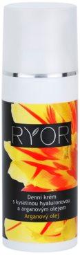 RYOR Argan Oil crema de día con ácido hialurónico