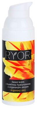 RYOR Argan Oil Tagescreme mit Hyaluronsäure 1