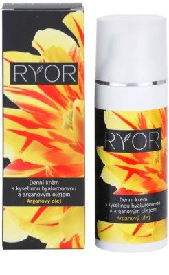 RYOR Argan Oil Tagescreme mit Hyaluronsäure 2