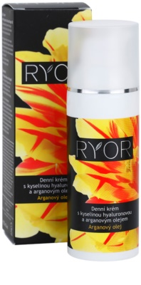 RYOR Argan Oil Tagescreme mit Hyaluronsäure 3