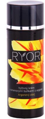 RYOR Argan Oil nährende Creme mit Stammzellen des Arganbaumes