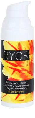 RYOR Argan Oil serum revitalizante con ácido hialurónico 1