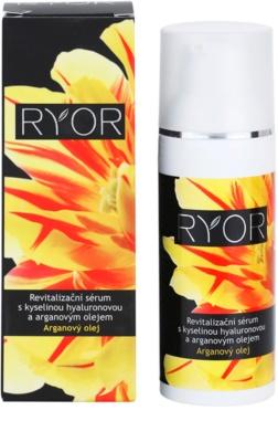 RYOR Argan Oil serum revitalizante con ácido hialurónico 2