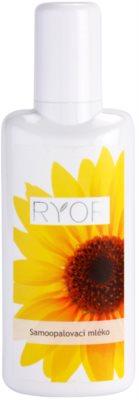 RYOR Face & Body Care leche autobronceadora corporal