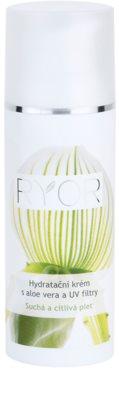 RYOR Dry And Sensitive crema hidratante con aloe vera y filtros UV