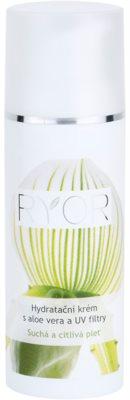 RYOR Dry And Sensitive creme hidratante com aloe vera e filtro UV