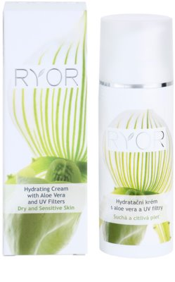 RYOR Dry And Sensitive vlažilna krema z aloe vero in UV filtri 2