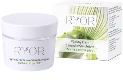RYOR Dry And Sensitive crema nutritiva con aceite de almendras
