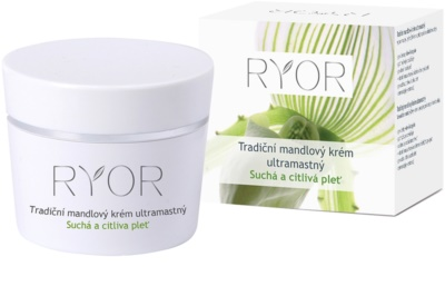 RYOR Dry And Sensitive Traditionelle Mandelcreme sehr fettig
